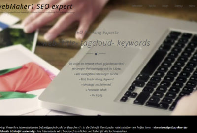 Webdesign, Webseiten Gestalltung, Internet Optimierung, Homepage Gestaltung, SEO expert, Referenzen